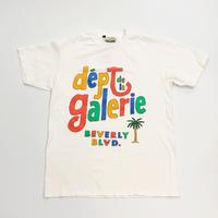 GALLERY DEPT. Dept de la Galerie Café Tee