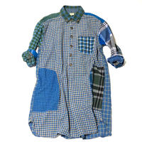 RTH ARTIST SHIRT-mulch plaid- size 0