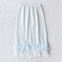 dosa ruffle skirt-tint-