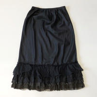 dosa ruffle skirt-midnight-