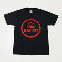 GALLERY DEPT. Stop Being Racist Tee Black