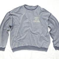 GALLERY DEPT.  DÉPT de la GALERIE Reversible Sweater