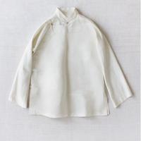dosa mandarin jacket w/hand stitching