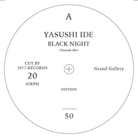 <Grand Gallery×1977>7inch  No.20  YASUSHI IDE/LONESOME ECHO PRODUCTION starring 内田勘太郎 limited 50