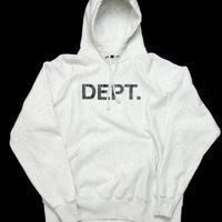 GALLERY DEPT.  Logo Hoodie Grey