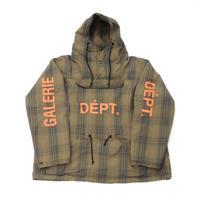 GALLERY DEPT. Harrison Anorak Jacket -Orange-