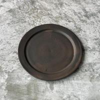 【塚本友太】17㎝リム皿 黒