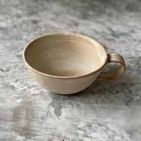 【北側雄一】白砂釉スープカップ