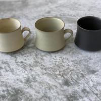 【パンと器/塚本友太】ラージマグカップ  白/緑/黒
