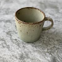 【伊藤豊】黄粉引マグカップ