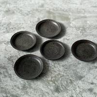【平井悠一】豆皿 黒