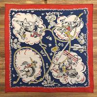 50's Vintage Cowboy pattern Bandana