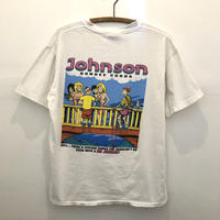 90's Big Johnson  Back Print Tee  Bungee Cords