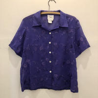 Flower Sheer S/S Shirt
