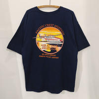 Helicopter  Back Print  Tee