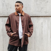 BROWN COVERALL JACKET