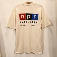 DEAD STOCK  NPR  Back Print Tee