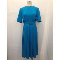 90's Pleated skirt dress