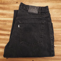 Levi's Silver Tab  baggy  Black Denim Pants