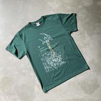 辰巳蒸留所 / 郡上八幡 オリジナルTシャツ5th アイビーグリーン