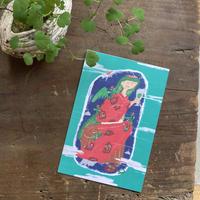 辰巳蒸留所 / 郡上八幡 ポストカード 緑の妖精