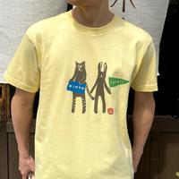 寅卯Tシャツ/イエロー