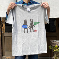寅卯Tシャツ/グレー