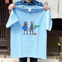 寅卯Tシャツ/ブルー