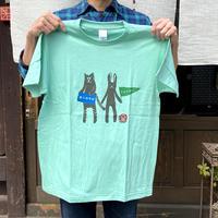 寅卯Tシャツ/グリーン