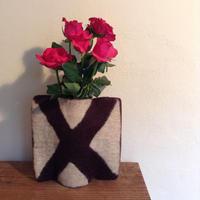 花瓶カバー「X」