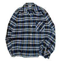 Vintage Rayon Check Shirt size M