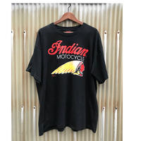 Indian MOTOCYCLE T-shirt Size-XL MADE IN USA 90s