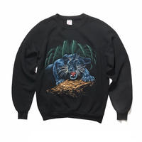 Black Panther🐾 Sweater  Size-L MADE IN USA 1989