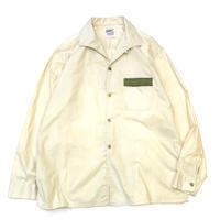 60's  Wings Dot Pattern Shirt size L