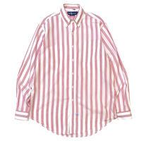 Ralph Lauren L/S Striped Shirt size M〜L程