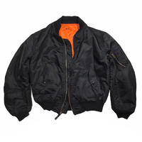 ALPHA INDUSTRIES Black MA-1 Jkt Size-L 90s~
