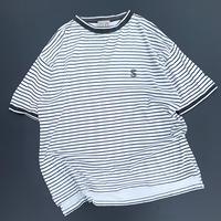 White Sox×Cooperstown×Starter Border T-shirt size L程