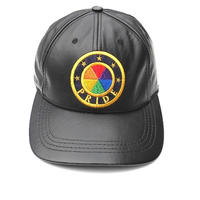 "PRIDE ""GENUINE LEATHER"" CAP  MADE IN USA"