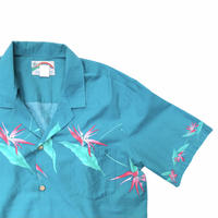 """PARADISE FOUND Cotton S/s Shirts Size-XL """"MADE IN Hawaii"""""""