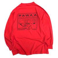 PAWA'A L/S T-SHIRT size XL程
