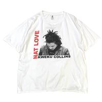KWEKU COLLINS NAT LOVE T-SHIRT size L〜XL程