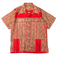 Hand Made Paisley Pattern S/S Shirt size M程