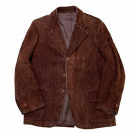 70's 〜 Suede tailored jacket size S〜M程
