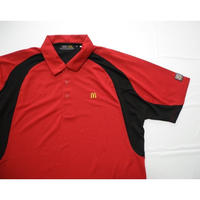 McDONALD'S  S/s Polo Shirt M