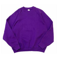 90's FRUIT OF THE LOOM PURPLE SWEATER MADE IN USA🇺🇸 size LADIES・XL (実寸L程)