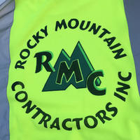 ROCKY MOUNTAIN REFLECTOR MESH  T-shirt size L