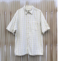 Eddie Bauer Cotton S/s Shirt Size-M 大き目