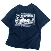 CALIFORNIA HARLEY-DAVIDSON T-SHIRT size L