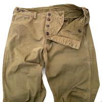 Polo Ralph Lauren 43khaki Type Herringbone Pants W38 L34