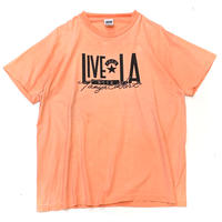 LIVE★LA T-SHIRT MADE IN USA size L程